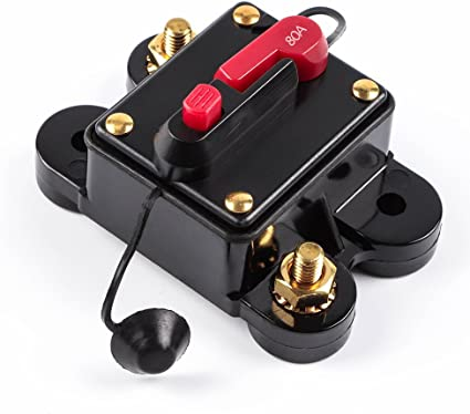LOT OF 10 Metal 30 amp Automotive 12v In Line Circuit Breaker Auto reset cycling
