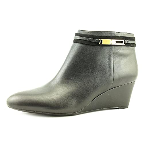 Womens Quimby Leather Closed Toe Ankle Fashion Boots