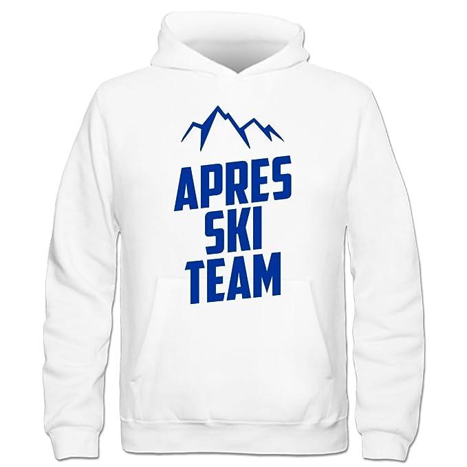 Sudadera con capucha niño Apres Ski Team Mountain by Shirtcity: Amazon.es: Ropa y accesorios