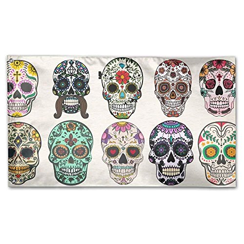 Sugar Skull Home Garden Flags Polyester 3x5 Foot