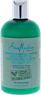 product image for Shea Moisture Zanzibar Marine Complex Age-Defy & Color Protect Shampoo for Unisex, 13 Ounce