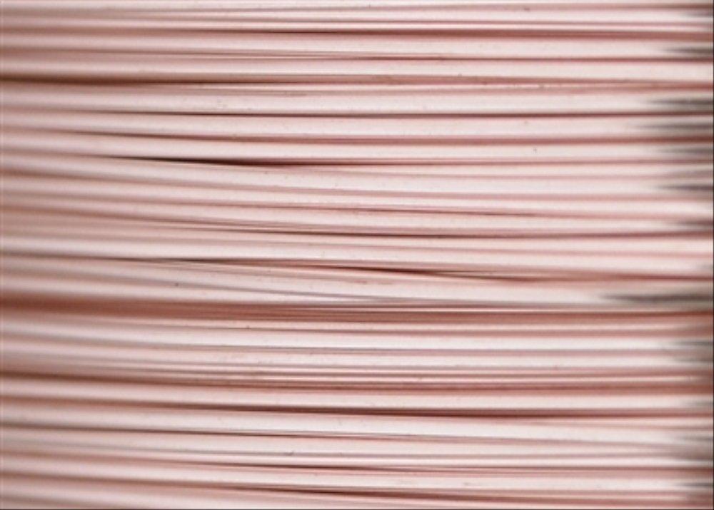 Beadalon Artistic Wire-24 Gauge 10yd oro rosa altri