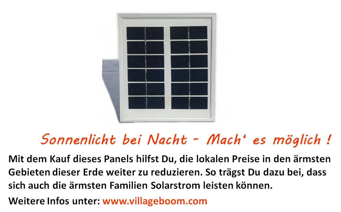 2 Watt Solar Panel Villageboom GmbH