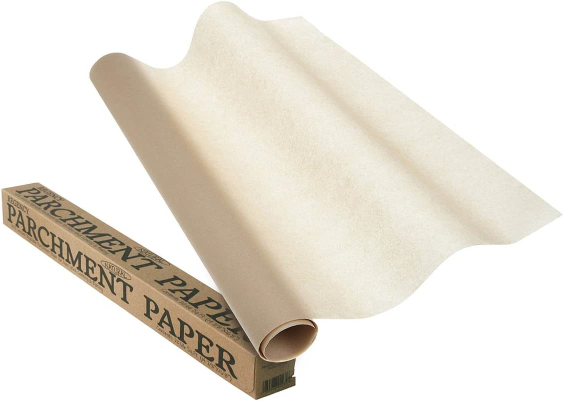 Roll set of 3 Regency Wraps Natural Parchment Paper for Non-Stick Baking /& Cooking RW097 20.66 ft