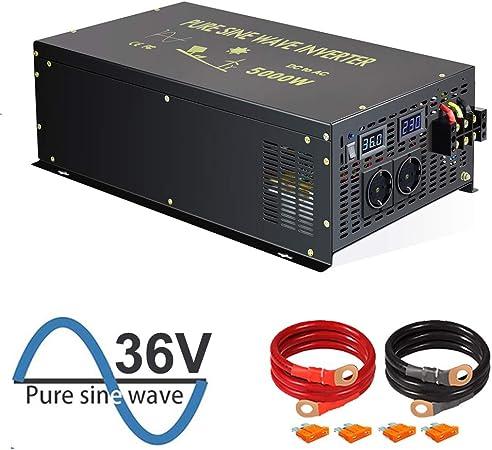 Wzrelb 5000w Reiner Sinus Wechselrichter 36v Dc Bis Elektronik