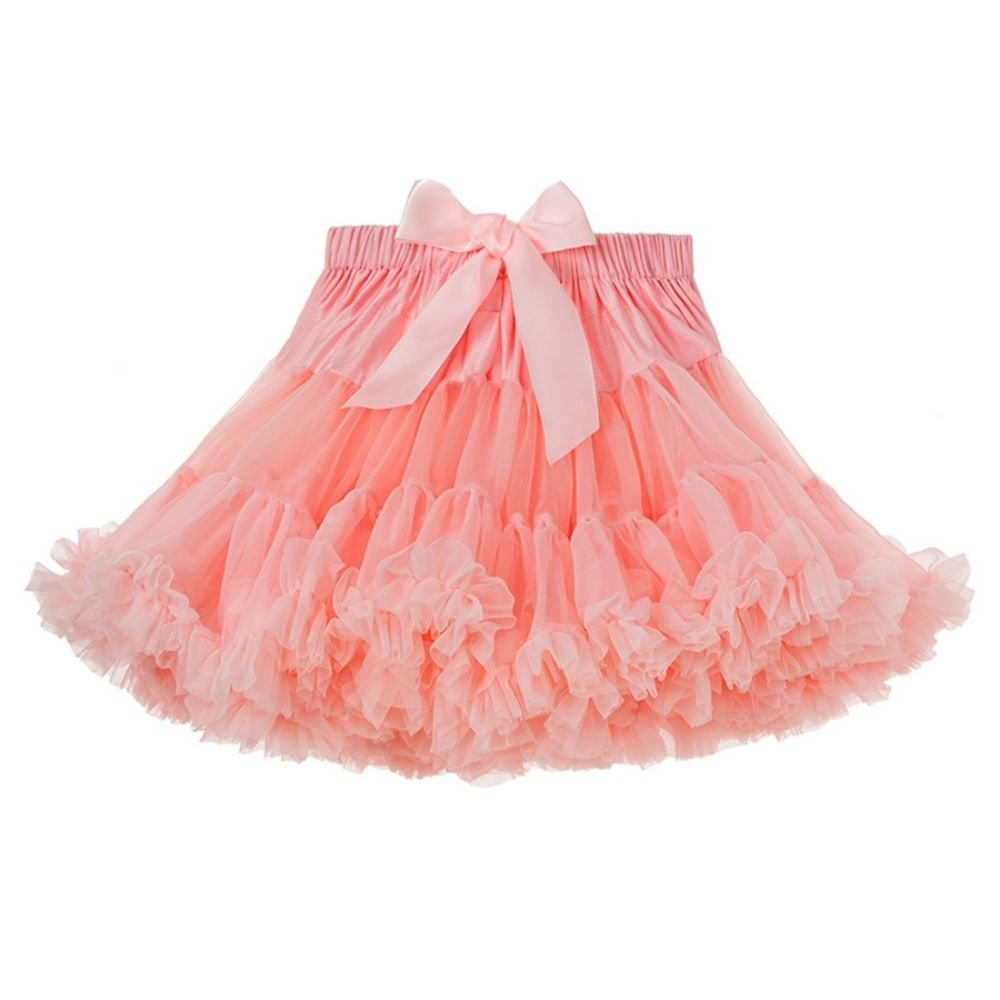 Twippo Tutu Skirt Child Girls Poofy Tutus Birthday Halloween 1-2T/90