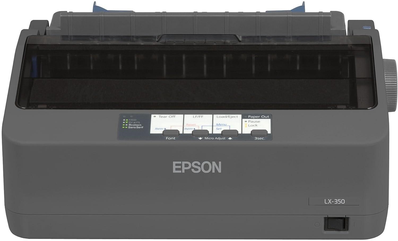 Epson LX Impresora matricial puerto paralelo y USB negro