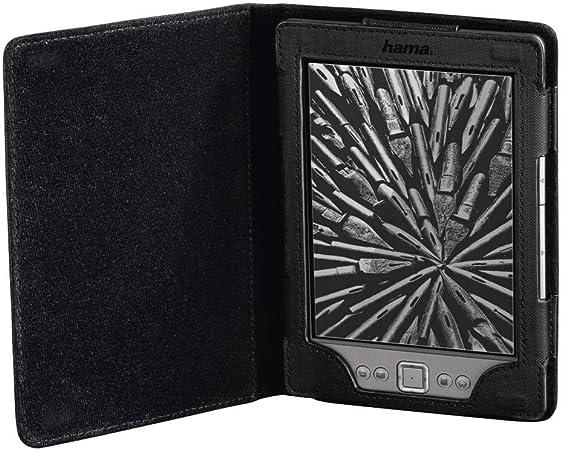 Funda para  Kindle//Kindle Paperwhite//Kobo Touch//GLO Hama Arezzo Color Negro