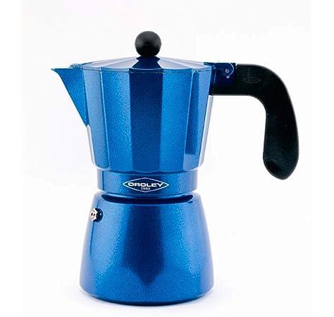 Monix M301706 M301706-Cafetera Italiana, 6 Tazas, Color Cobalto ...