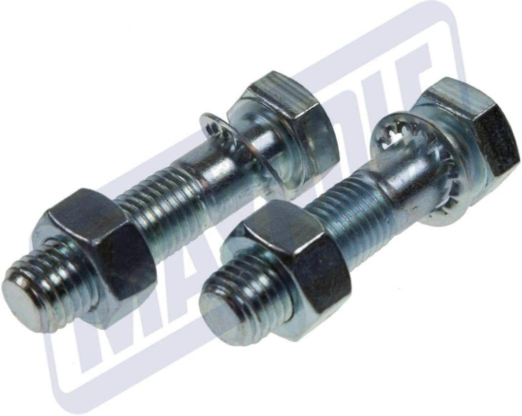 TOWBALL NUTS /& BOLTS M16 x 65mm MP248 MAYPOLE 2x HIGH TENSILE ZINC PLATED 8.8
