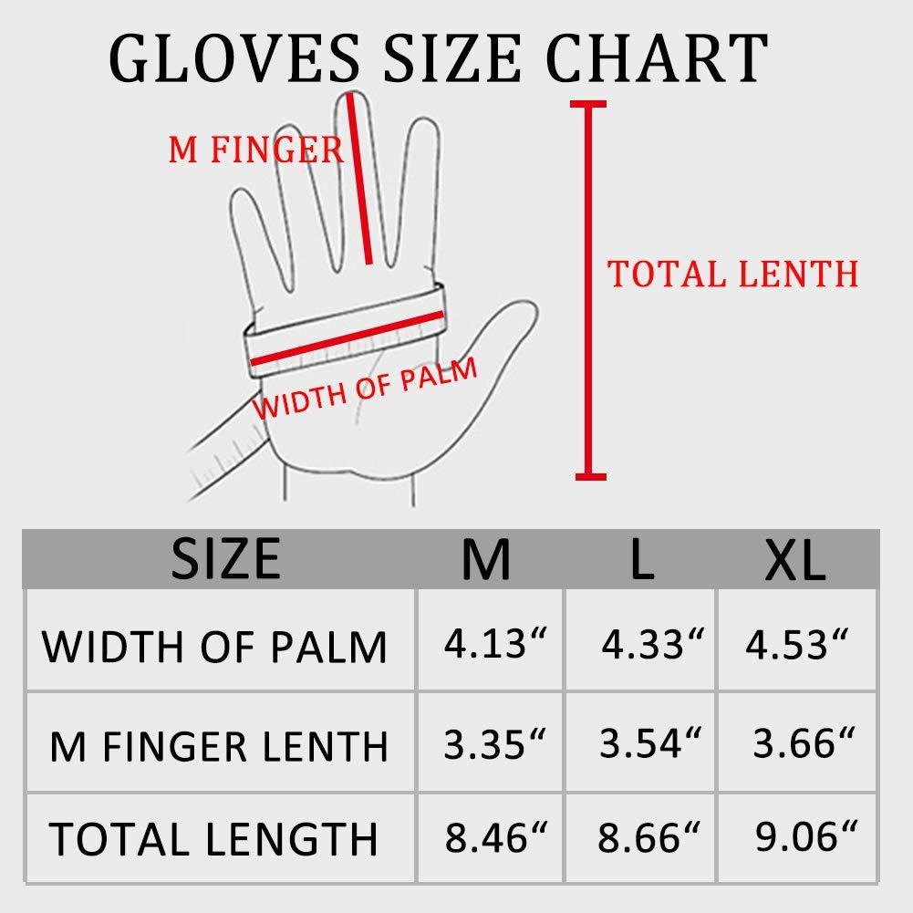 Dee Plus Angelhandschuhe Anglerhandschuhe Verstellbarer Bundabschluss mit Schwei/ßb/änder Neopren Angel Handschuhe wasserfest Fishing Gloves leicht