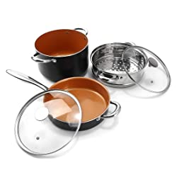 Michelangelo ceramic coated cookware