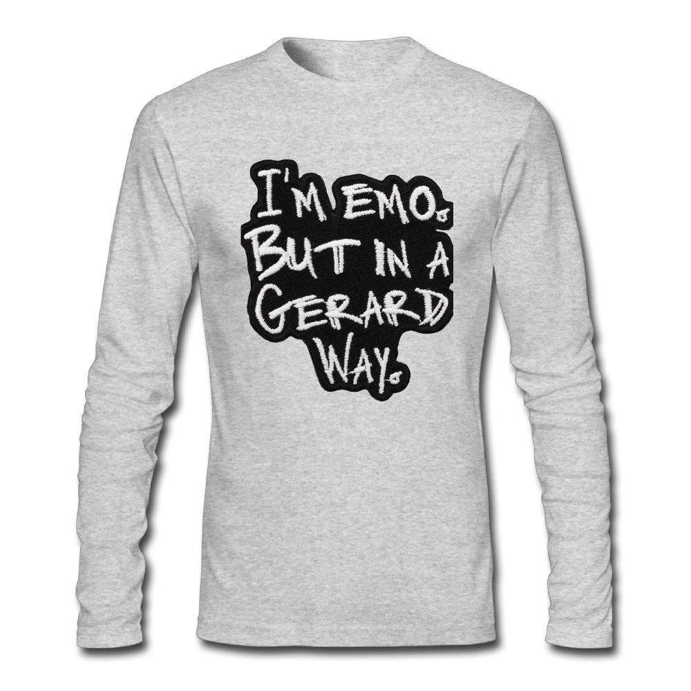 Amazon Im Emo But In A Gerard Way Tunic Long Sleeve T Shirt
