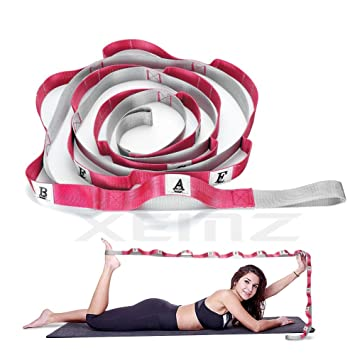 XEMZ Multi-Loop Correa de Yoga, Durable Antideslizante ...