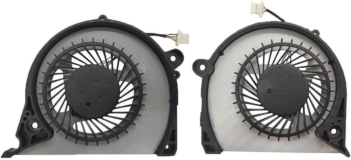 CPU GPU Cooling Fan Cooler for Dell Inspiron G7-7577 G7-7588 G5-5587 Vostro 15-7580 15-7570 P71F P72F Series Laptop FJQS FJQT
