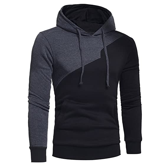 Amazon.com: Kemilove Pocket Hoodie Coats, Mens Sweater Jackets Warm Hooded Sweatshirt Outwear: Clothing