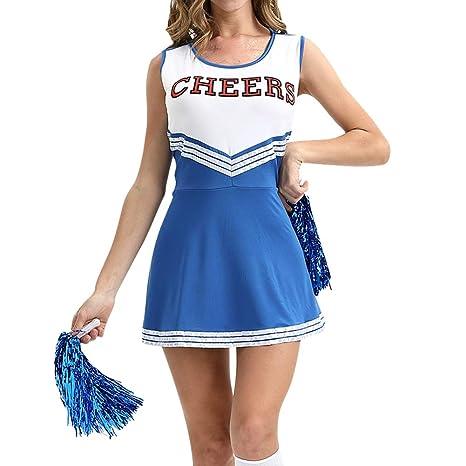Gtagain Ropa de Porrista Mujer Uniforme - Cheerleading Traje ...