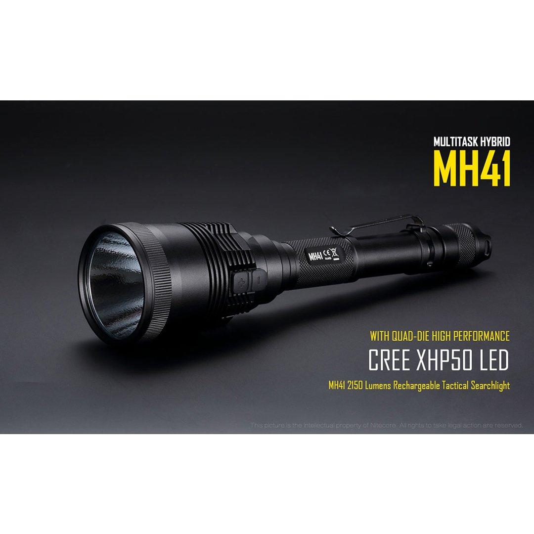 Noir Nitecore Mh41 Lampe de Poche Mixte Adulte