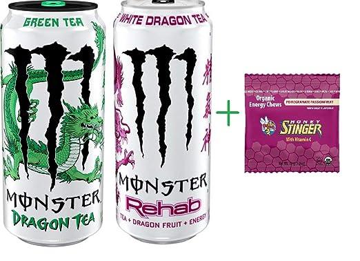 Monster Dragon variedad de té – té verde y té blanco – 15.5 ...