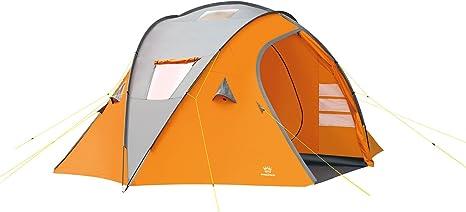 Wehncke 15912 Big Dome - Tienda de campaña para 6 Personas: Amazon.es: Deportes y aire libre