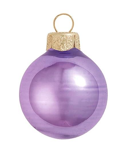 """40ct Shiny Lavender Purple Glass Ball Christmas Ornaments 1.25"""" ... - Amazon.com: 40ct Shiny Lavender Purple Glass Ball Christmas"""