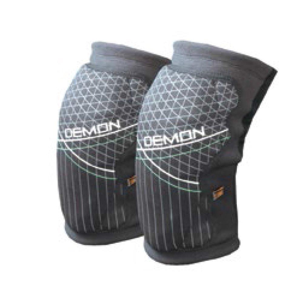 Demon Knee Guard Soft Cap X D3o Body Protection - Black Demon Snow