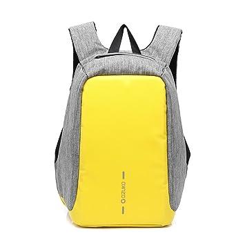 sysi - Ordenador portátil mochila para la universidad Business Notebook/ ordenador mochila mochila para trabajo amarillo amarillo S: Amazon.es: Electrónica