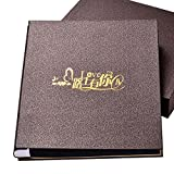 Couple feelings record book album 567 inch 400 mixed interstitial boxed album this / family album growth album / ( Color : D )