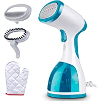 Minetom Garment Steamer for Clothes -1000W Portable Powerful Handheld Clothes Steamer with 260ml High Capacity, 40s Fast…