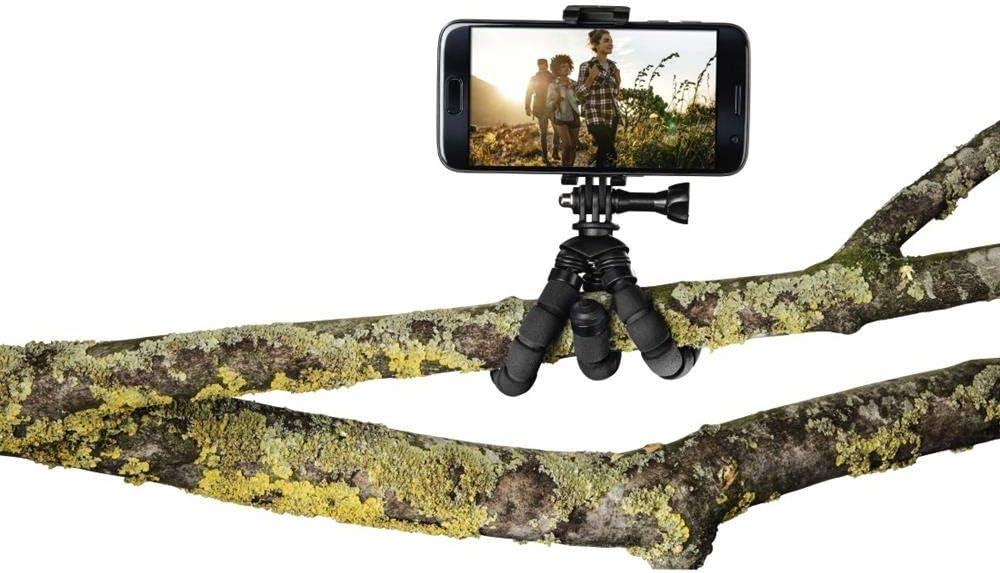 5,5 bis 7,8 cm Hama Mini-Stativ f/ür Smartphone und GoPro