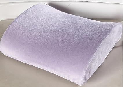 Amazon Com Du Hl Memory Foam Lumbar Back Support Cushion Pillow For