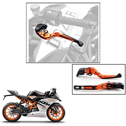 Autowizard Foldable Performance Clutch And Brake Levers For Ktm Rc