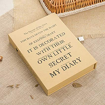 Amazon.com: Gold Happy Student Gift Diary in The Secret ...
