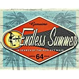 Endless Summer - Genuine Metal Tin Sign 16W x 12.5H , 16x13 , 16x13