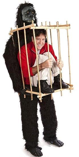 GORILLA and the Cage (disfraz): Amazon.es: Juguetes y juegos