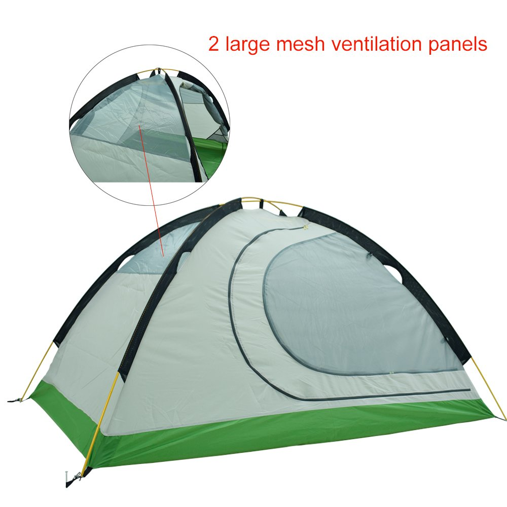 Amazon.com  GEERTOP 2-person 4-season Backpacking Tent For C&ing Hiking Travel Climbing - Easy Set Up  Sports u0026 Outdoors  sc 1 st  Amazon.com & Amazon.com : GEERTOP 2-person 4-season Backpacking Tent For ...