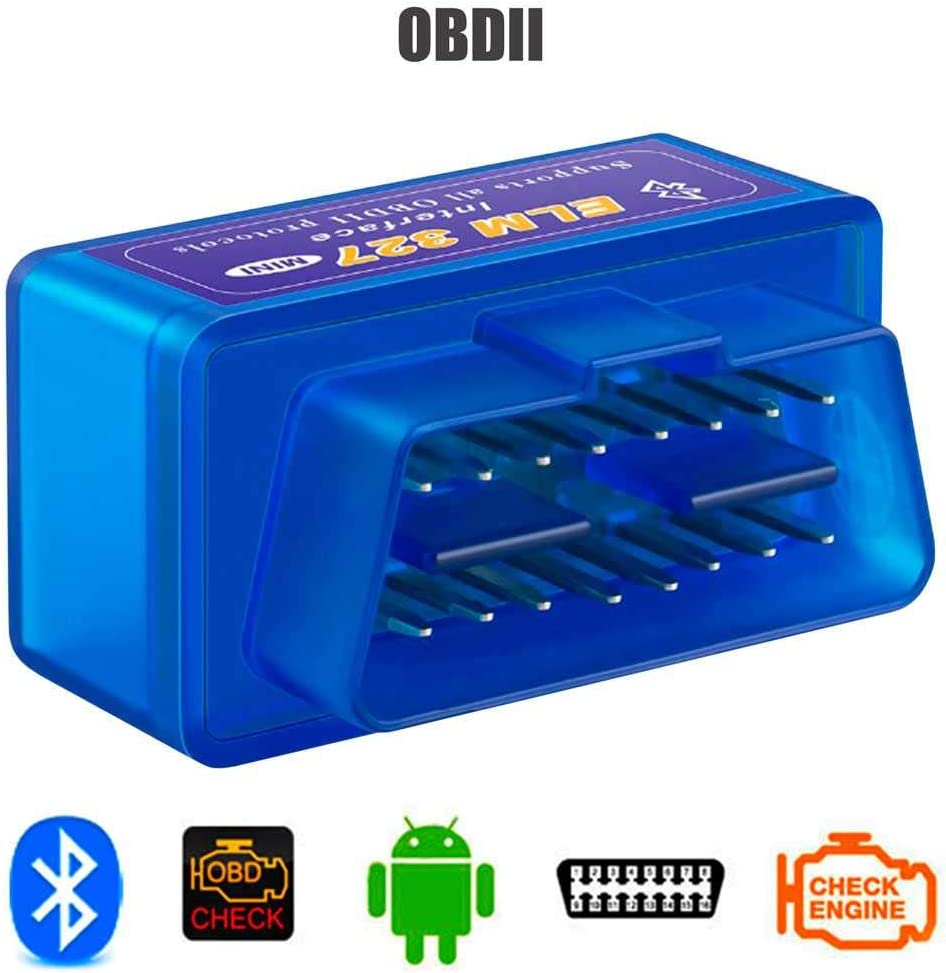 Ociodual Escaner Bluetooth ELM327 OBDII Diagnosis Coche V2.1 Multimarca ODB2