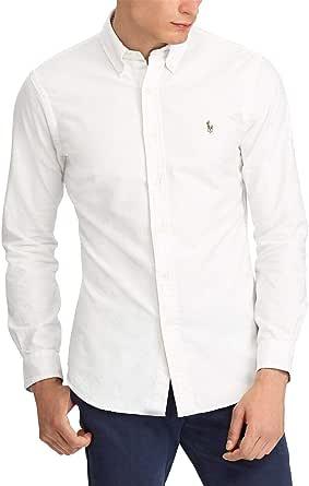 Polo Ralph Lauren Camisa Oxford Blanco para Hombre XXL ...