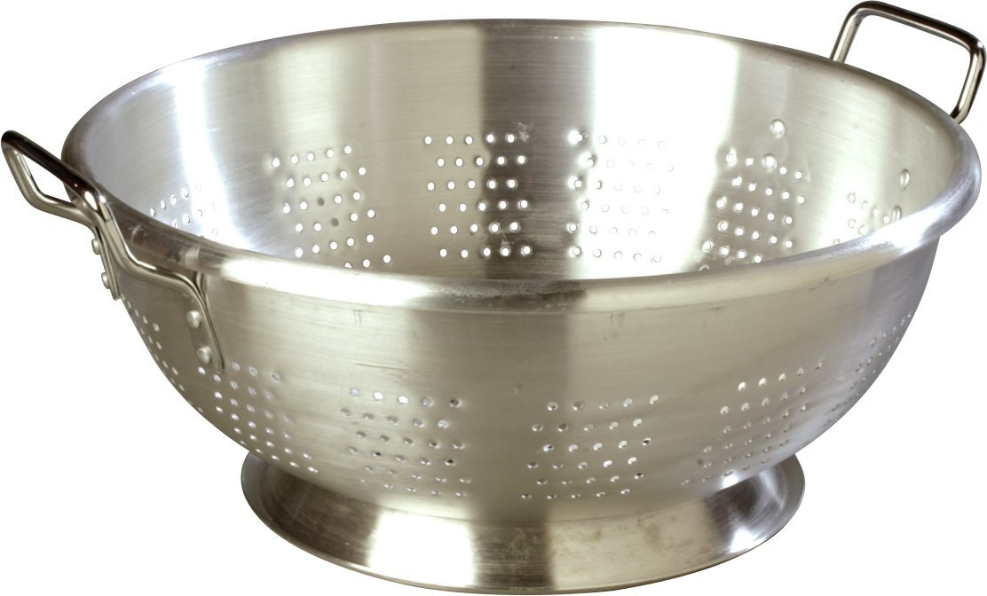 Carlisle 60280 Dura-Ware Standard Weight Commercial Colander, 16 Quart (Pack of 6)