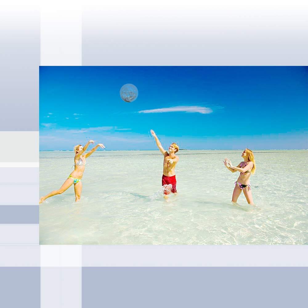 Pelota De Playa Inflable, Pelota De Playa Transparente 2 Piezas ...