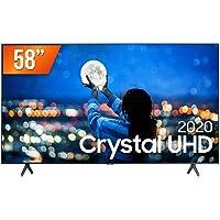 "Smart TV LED 58"" UHD 4K Samsung UN58TU7000GXZD, Processador Crystal 4K, HDR, Borda Infinita, Controle Remoto Único…"