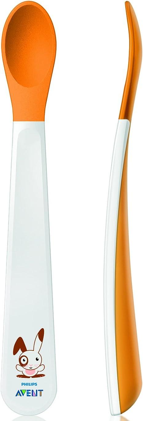 Philips Avent SCF710/00 - Pack de 2 cucharas 6m+ , modelos surtidos: Amazon.es: Bebé