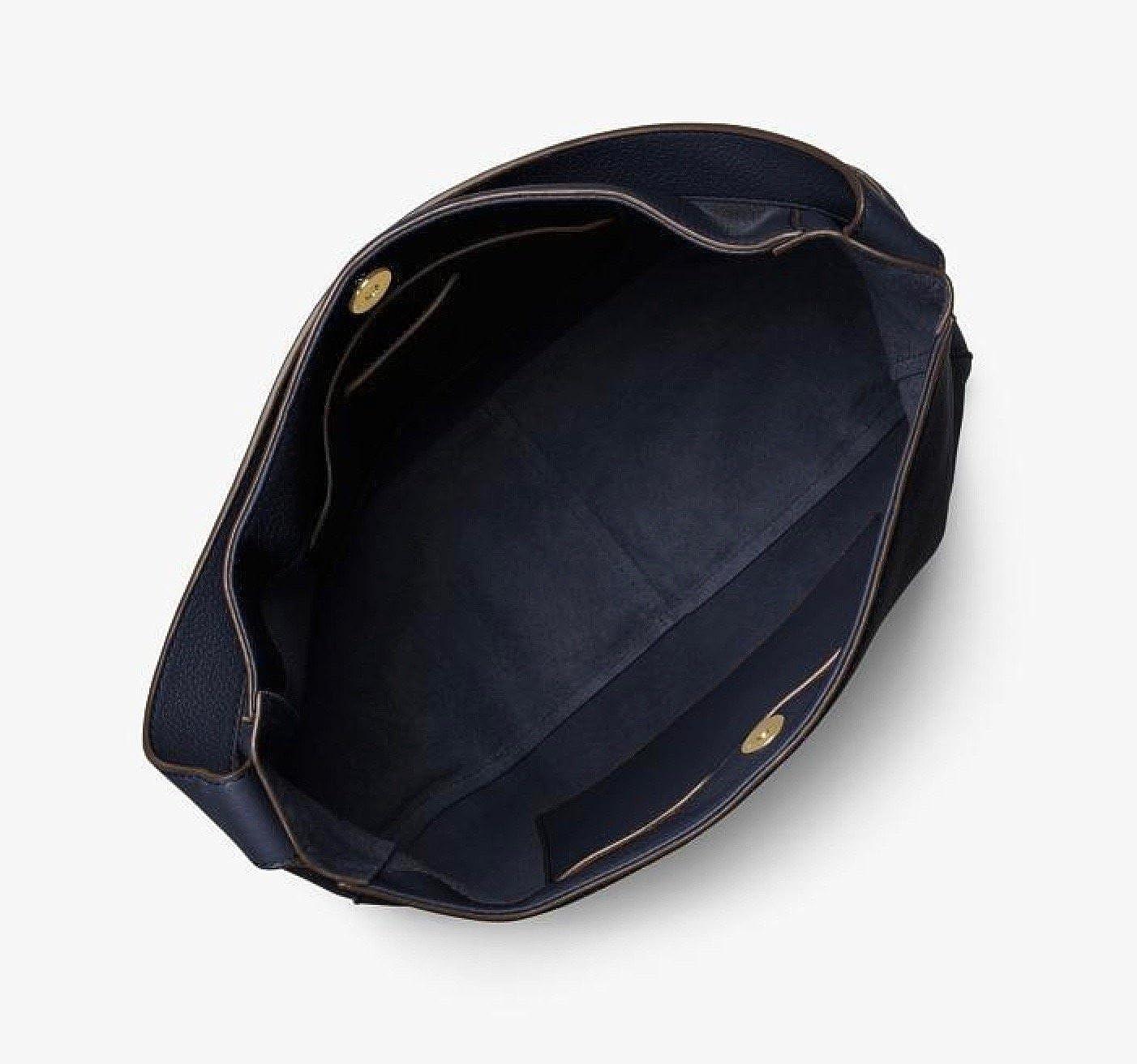 fc8b2df9de85 MICHAEL MICHAEL KORS Ashbury Large Leather Shoulder Bag  Handbags   Amazon.com