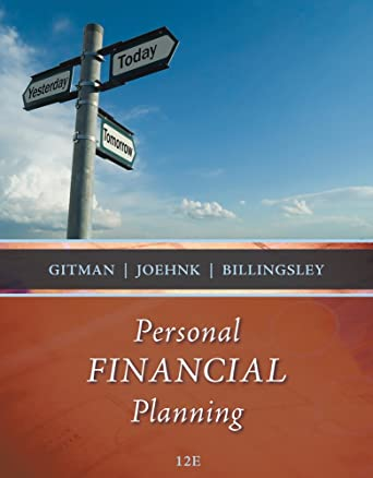 Test bank for principles of managerial finance 12th edition by.