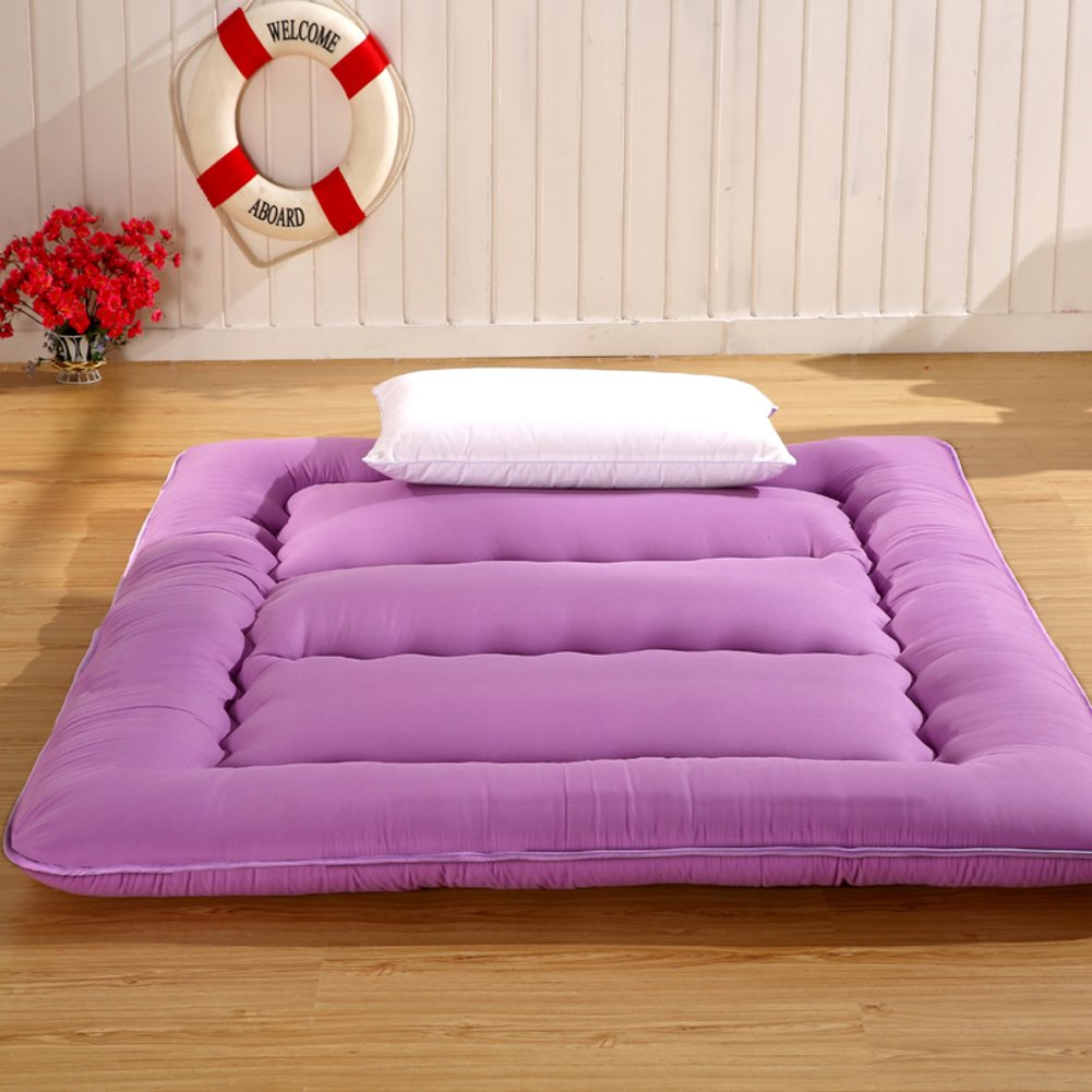 B Queen1 Pure color Mattress,Thickened Tatami Mat,Student Dormitory Sponge Mat,Single Double Floor-H 0.9m Bed