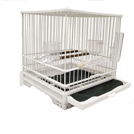 DWY Jaulas para pájaros Plástico Jaula de pájaros Budgies ...