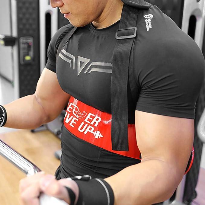 EBTOOLS Isolatore per Bicipiti Trainer per Bicipiti con Cuscinetti Imbottiti per Sollevamento Pesi Bodybuilding Allenamento Bicipite Fino a 100 kg