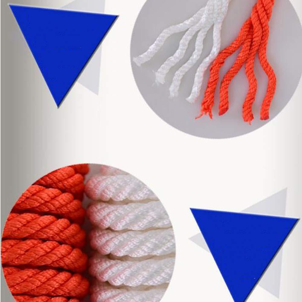 Seil Klettern Klettern Klettern Survival Rope Rettungsseil-Rettungsseilabnutzungsseilüberlebensausrüstungsversorgungen Kletterseilsdes Kletterseils des Rettungsseils Haiming (Farbe   Weiß, größe   10m) B07Q5XNMD6 Einfachseile Gesunder Rhythmus a2175d