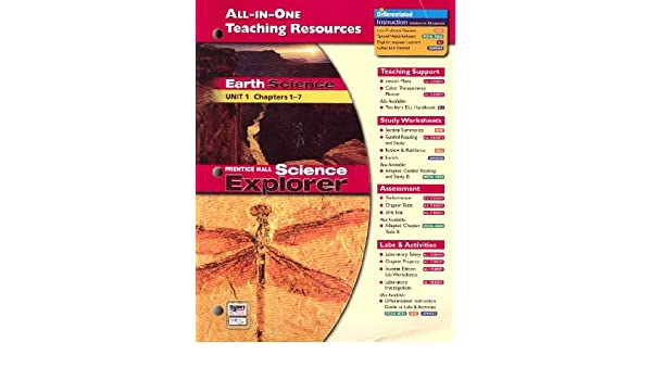 All-in-One Teaching Resources Earth Science, Unit 1: Chapters 1-7 ...