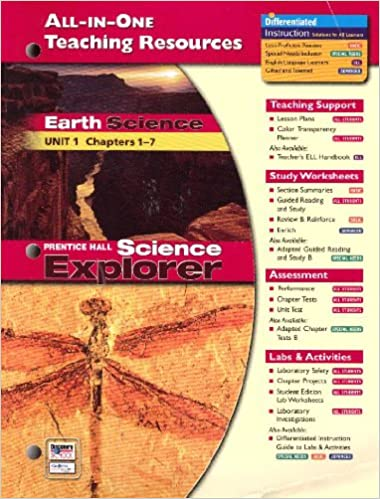 All In One Teaching Resources Earth Science Unit 1